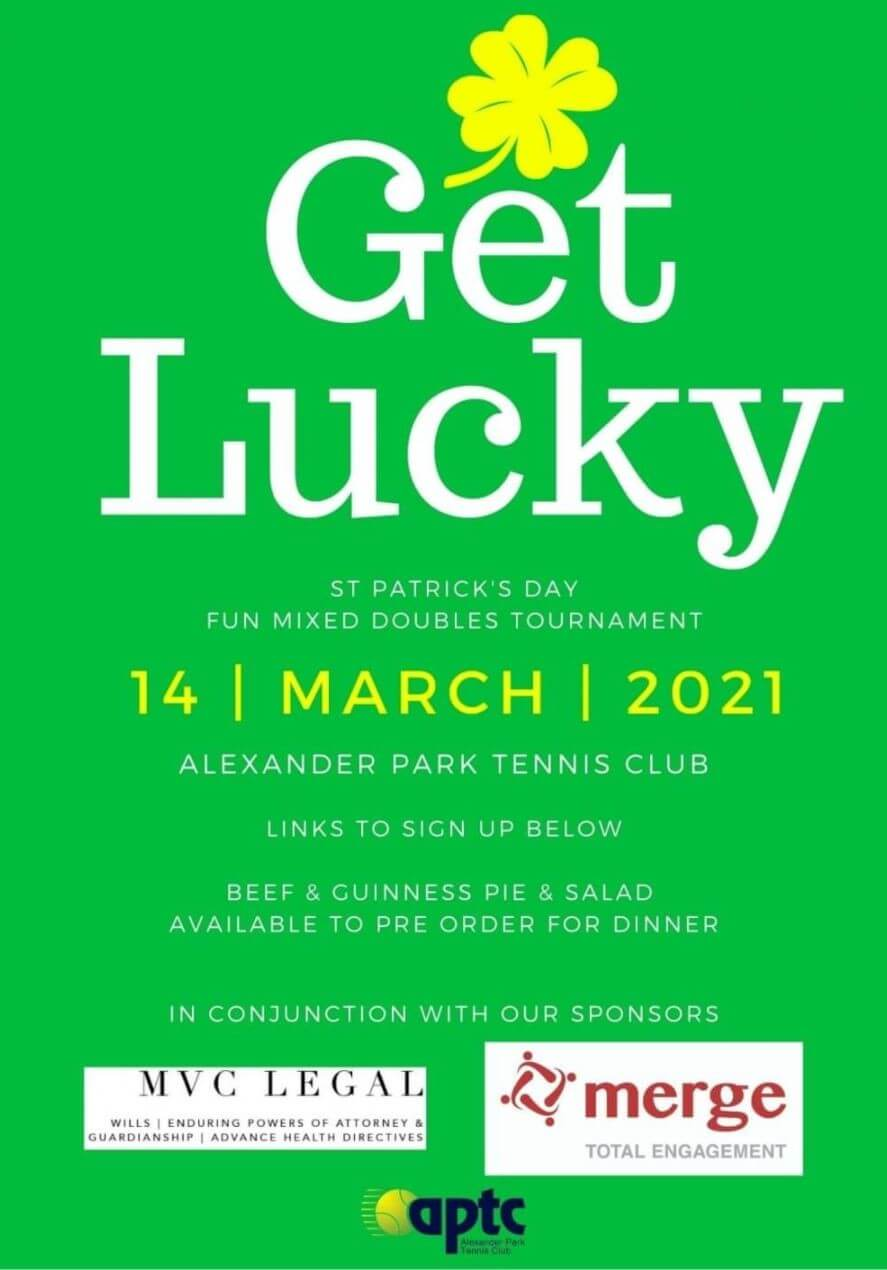 Saint Patrick's Day Mixed Doubles Tournament